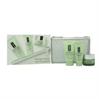 Clinique Redness Relief Kit Gift Set 4 Pieces
