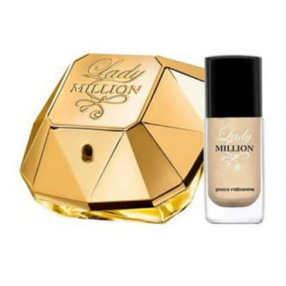 Lady Million Gift Set 50ml EDP Nail Polish 2