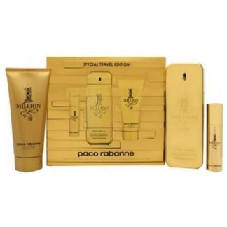 Paco Rabanne 1 Million Special Travel Edition Gift Set 100ml EDT