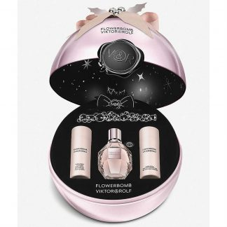 Viktor and Rolf FlowerBomb Christmas Gift Set 50ml Eau de Parfum