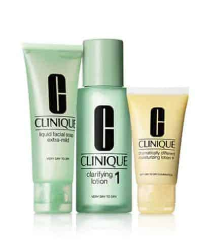 Clinique 3-Step Skincare Gift Set Dry