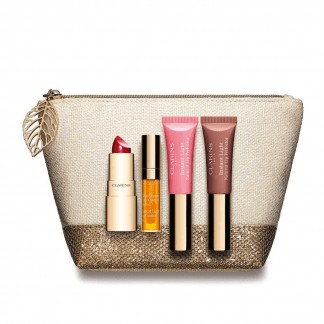 Clarins Precious Lip Collection Makeup Gift Set 5 Pieces
