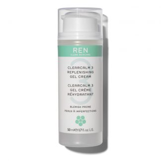 Ren Clearcalm 3 Replenishing Gel Cream Facial Moisturiser 50ml