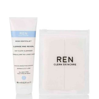 Ren Rosa Centifolia Cleanse & Reveal Hot Cloth Cleanser 100ml