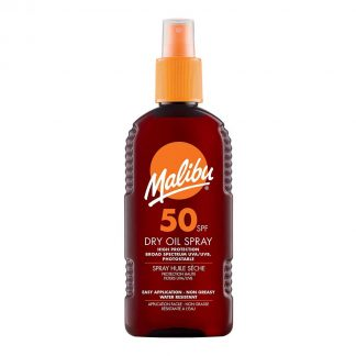 Malibu Sun Dry Oil Spray SPF50 100ml