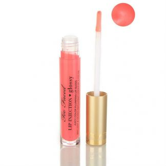 Too Faced Lip Injection Glossy Plumping Lip Gloss Let's Flamingle
