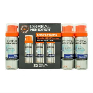 L'Oreal Men Expert Anti-Irritation Skin Caring Shave Foam Gift Set
