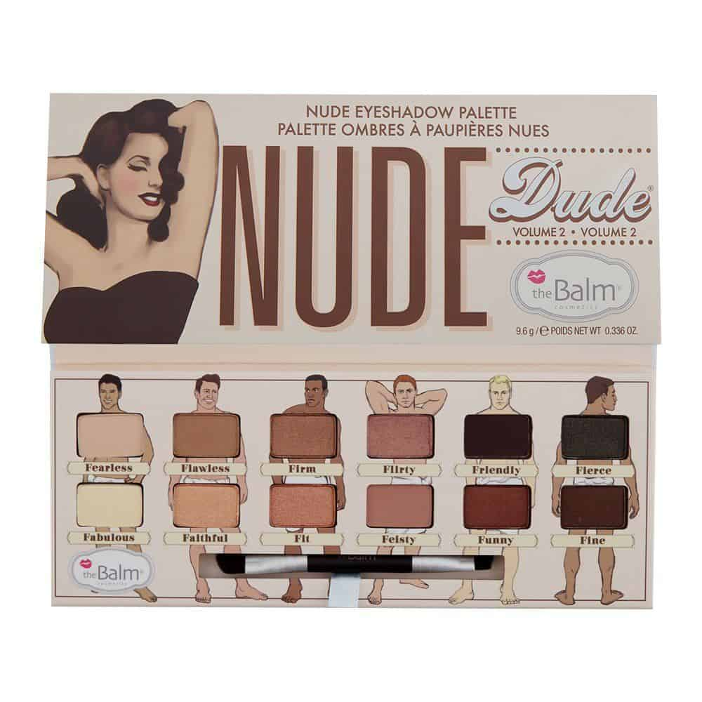 The balm nude dude palette review swatches