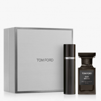 Tom Ford Private Blend Oud Wood Gift Set 50ml EDP and Mini